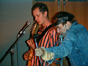 U.S. Maple - Todd Rittmann and Al Johnson playing with U.S. Maple in 1999