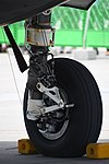 U.S. Marine Corps F-35B Lightning II(169164) of VMFA-121 right main landing gear left rear view at MCAS Iwakuni May 5, 2018.jpg