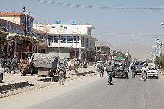 Sharana Place in Paktika Province, Afghanistan