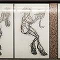 U2 Museumsquartier Kunst Bahnsteig 1 Zeichnung 05 Die Gabenbringende.jpg