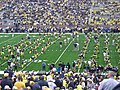 UConn vs. Michigan 2010 03 (Michigan pre-game).JPG