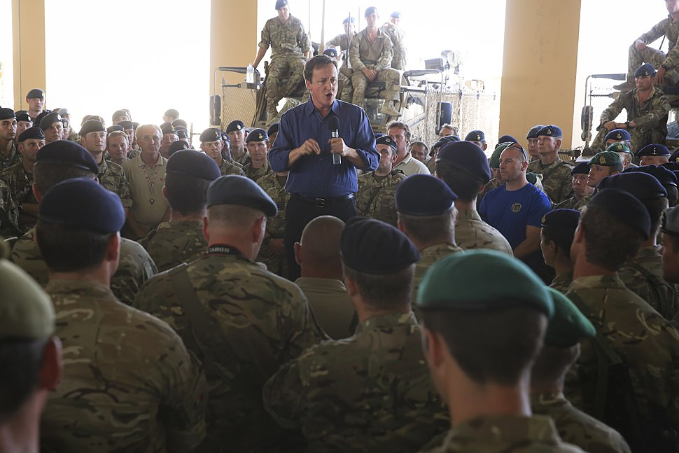 UK Prime Minister Visits Troops in Helmand 141003-M-MF313-130