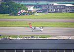 UNI Air B-15233 Try to Restatrt Engines at TSA Apron 20120524a.jpg