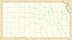 Holton is located in Kansas
