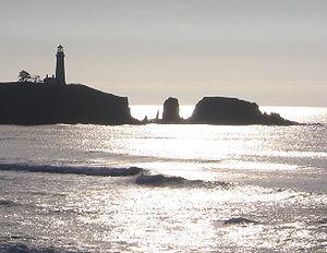 Yaquina Head - Yaquina Head from the north