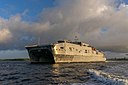 USNS Puerto Rico (T-EPF-11) successfully completed the first integrated sea trials on 22 August 2019.jpg