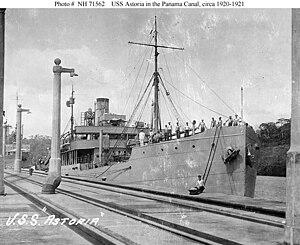 USS Astoria (ID - 2005, later AK-8))