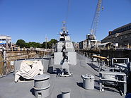 USS Cassin Young stern Mark 12 5 inch, 38 caliber guns