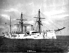 Image illustrative de l'article USS Chicago (1885)