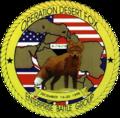 USS Enterprise (CVN-65) Operation Desert Fox logo, in December 1998.png