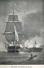 USS Essex in the War of 1812