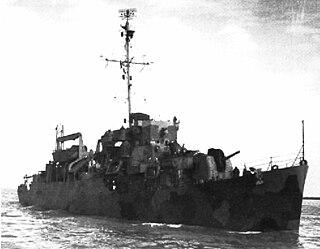 USS <i>Jack C. Robinson</i> (APD-72)