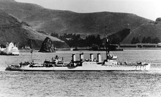 USS Litchfield (DD-336) - Image: USS Litchfield (DD 336) underway before World War II