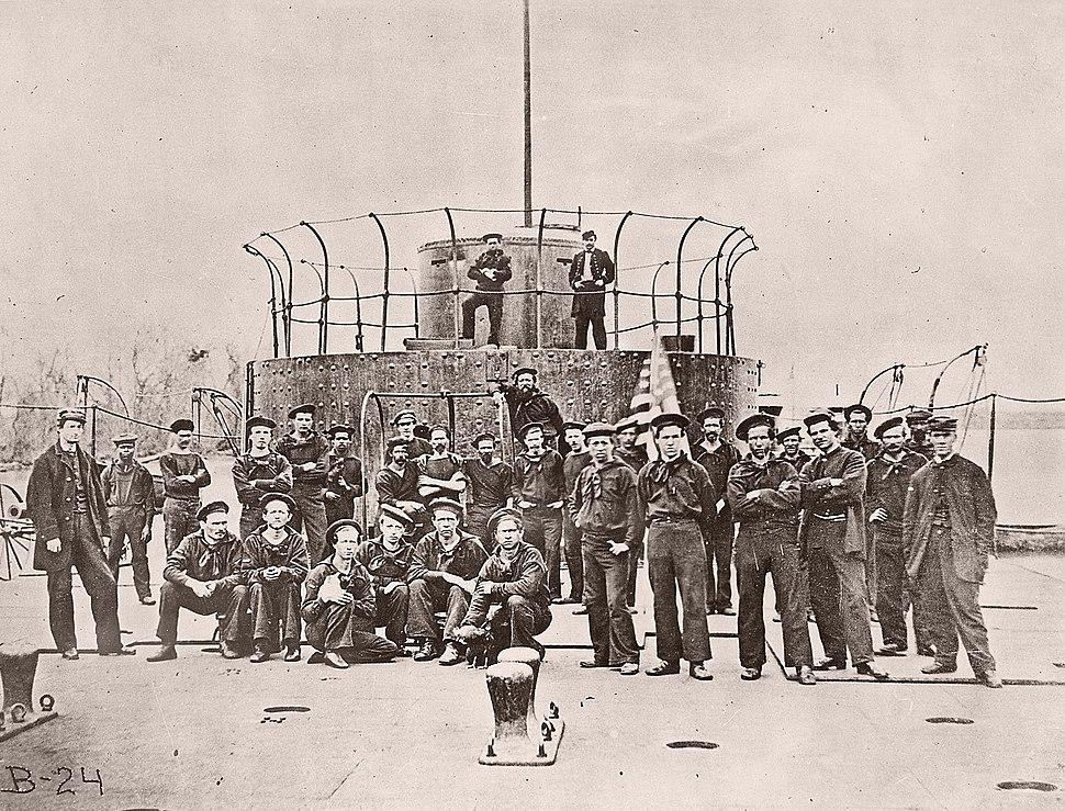 USS Monitor crew2