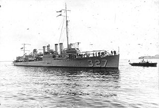 USS <i>Preston</i> (DD-327)