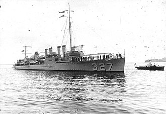 USS Preston (DD-327) - USS Preston