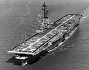 USS Princeton (LPH-5) underway at sea, circa 1965 (NNAM.1996.488.060.030)