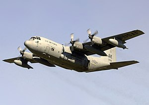 Lockheed HC-130 - A USAF HC-130 from the 211th Rescue Squadron