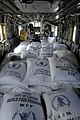 US Navy 080914-N-9620B-109 Relief supplies are stacked in a Navy helicopter assigned to the amphibious assault ship USS Kearsarge (LHD 3) for distribution in areas affected by recent hurricanes in Haiti.jpg