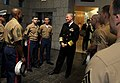 US Navy 091202-N-8273J-011 Chief of Naval Operations (CNO) Adm. Gary Roughead speaks with the U.S. Marine Corps security detachment at the U.S. Embassy in Bogota, Colombia.jpg