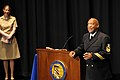 US Navy 110217-N-5025C-083 Honorary Chief Hospital Corpsman Bill Cosby delivers remarks during his pinning ceremony at the U.S. Navy Memorial in Wa.jpg