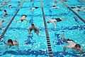 US Navy 110713-N-OA833-002 Plebes in the U.S. Naval Academy Class of 2015 receive basic swimming and diving instruction at Lejeune Hall.jpg