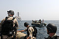 US Navy 110820-N-QL471-119 Sailors from the USS Truxton visit, board, search, and seizure team participate in a training exercise.jpg