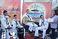 US Navy 110919-N-FP123-256 The U.S. 7th Fleet Band, Orient Express, is interviewed during the ABS-CBN morning television show.jpg
