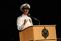 US Navy 110923-N-FC670-196 Adm. Jonathan Greenert speaks during a change of command ceremony at the U.S. Naval Academy where he relieved Adm. Gary.jpg
