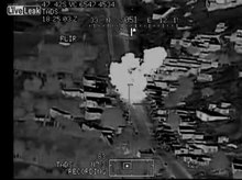 File:US pilot mock-sings as missile hits target.theora.ogv