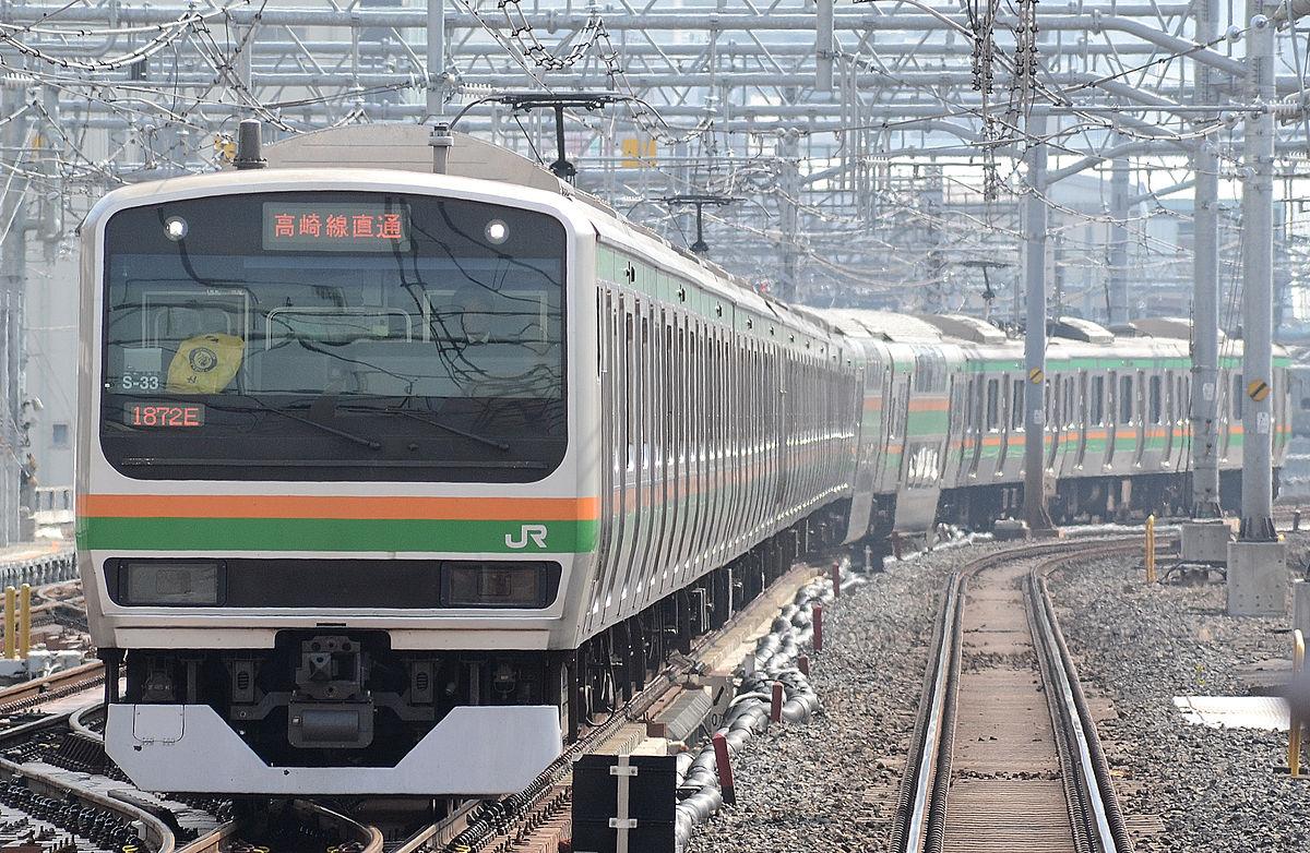 Ueno tokyo line E231.JPG