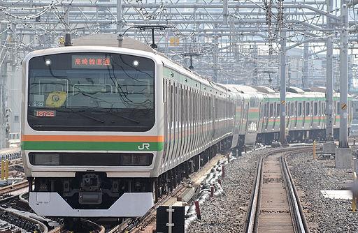 Ueno tokyo line E231