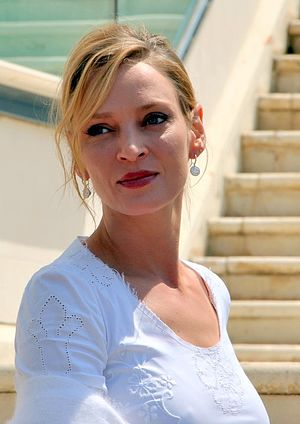 English: Uma Thurman at the Cannes film festival