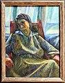 Umberto boccioni, sintesi plastica di figura seduta (silva), 1915 circa.jpg