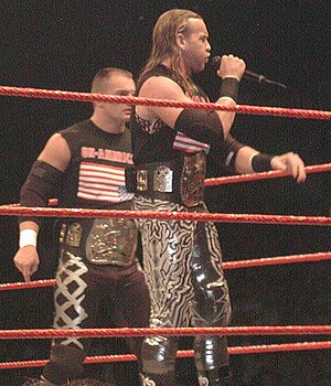 Lance Storm - Storm and Christian during their World Tag Team Championship reign as The Un-Americans.