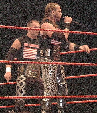 Christian in 2002 as World Tag Team Champion alongside Lance Storm UnamericansChampions.jpg