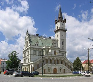 Uničov Town in Olomouc, Czech Republic
