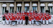 United States Marine Drum and Bugle Corps - France 2001.jpg
