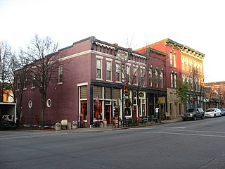 Upper Main Street Historic District (Lafayette, Indiana) United States historic place