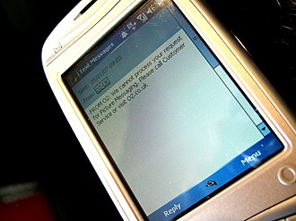 Multimedia Messaging Service - Handset configuration can cause problems sending and receiving MMS messages.