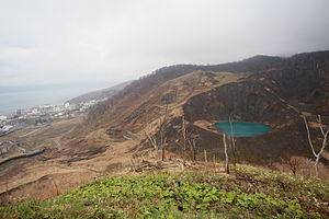 Tōyako, Hokkaido - Image: Usu vorcarno 201305