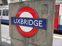 Uxbridge station roundel.JPG