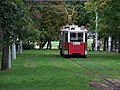 Výstaviště, linka 91 v trávě.jpg