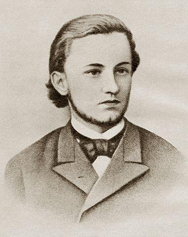 Викентий Вересаев – студент Санкт-Петербургского университета. Фотография, 1885 г.