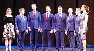 Voces8 British a cappella group