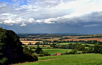 Vale of Belvoir - Vale of Belvoir from near Ab Kettleby off the A606