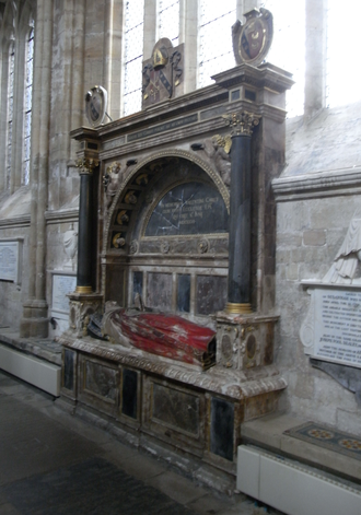 Valentine Cary - Monument to Bishop Valentine Cary, Exeter Cathedral