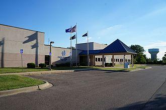 Van Buren Township, Michigan - The township hall of Van Buren Charter Township