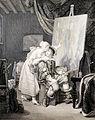 Van Dyck peignant son premier tableau-Jean François Ribault & Jean Alexandre Allais-MBA Lyon 2014.jpeg
