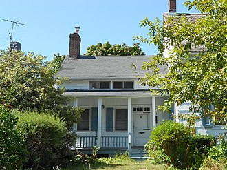 Timeline of Brooklyn - Wykoff-Bennet House, built c. 1744